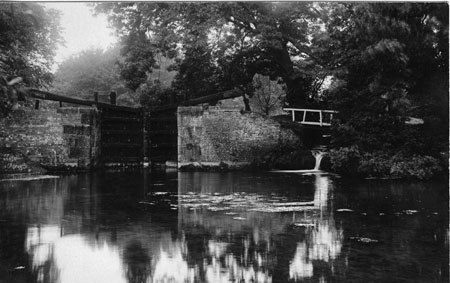 Haverholme Lock c1880